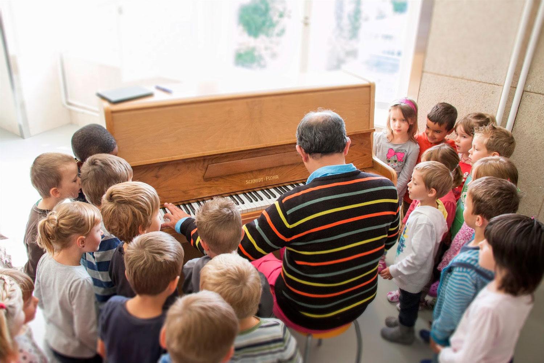 Atelier pour enfants avec le pianiste Thierry Ravassard