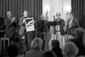Remise du prix Pierre Jean Jouve en 2012